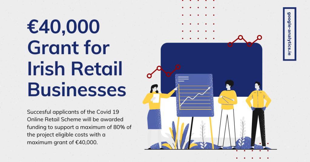 €40,000 Grant via Covid-19 Online Retail Scheme